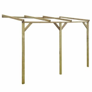 Rayne 2.2m X 3m X 2m Wood Pergola By Sol 72 Outdoor