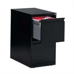 Global Total Office G Series 2-Drawer Vertical Filing Cabinet