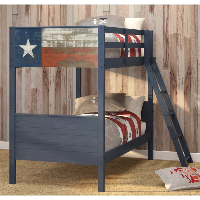 Zoomie Kids Iraheta Twin Over Twin Bunk Bed Wayfair