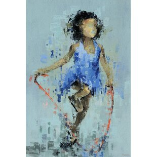 Skipping Rope Canvas Art by East Urban Home