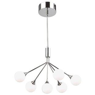 Artcraft Lighting Luna 6-Light LED Sputnik Chandelier