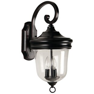 Find the perfect Collinson 3-Light Outdoor Wall Lantern By Alcott Hill
