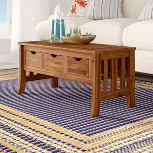 Beachcrest Home Pine Hills Coffee Table with Storage