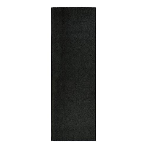 Kilmer Black Rug Mercury Row Rug size: Runner 130 x 1400cm