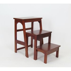 3-Step Wood Retractable Step Stool with 200 lb. Load Capacity & Step Stools Youu0027ll Love | Wayfair islam-shia.org