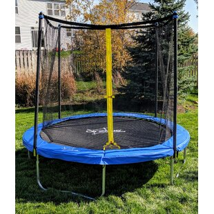 AirZone Play Backyard 8' Round Trampoline with Safety Enclosure