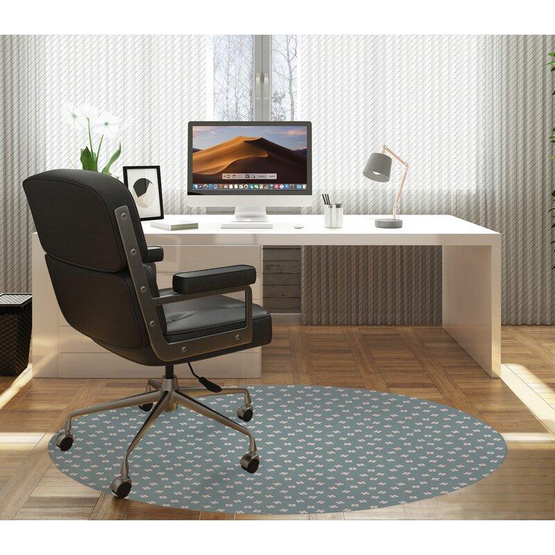 Kavka Dainty Low Pile Carpet Straight Round Chair Mat Wayfair