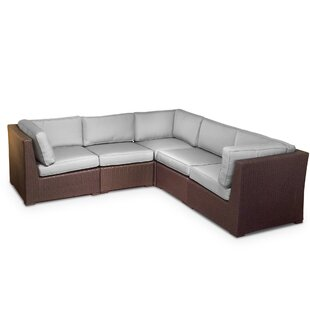 ElanaMar Designs Sonoma Sunbrella Sectional Set with Cushions