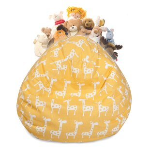 Stretch Stuffed Animal Toy Storage Bean Bag Chair By Harriet Bee