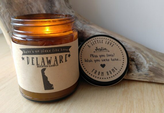 Define Design Etc State Of Delaware Scent Jar Candle Wayfair