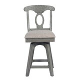 Vergara Swivel 24 Counter Stool by Ophelia & Co.