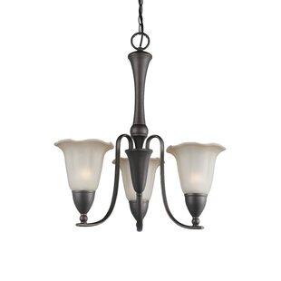 Woodbridge Lighting Kingston 3-Light Shaded Chandelier