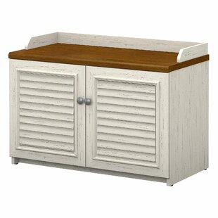 Beachcrest Home Oakridge Shoe Storage Bench