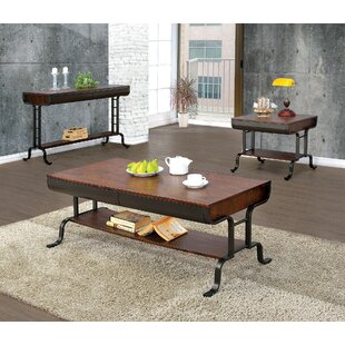Rochelle 3 Piece Coffee Table Set 17 Stories