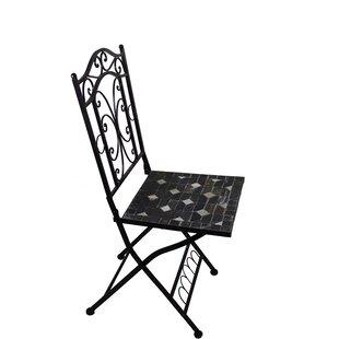 Brionna Mosaic Dining Chair by Fleur De Lis Living