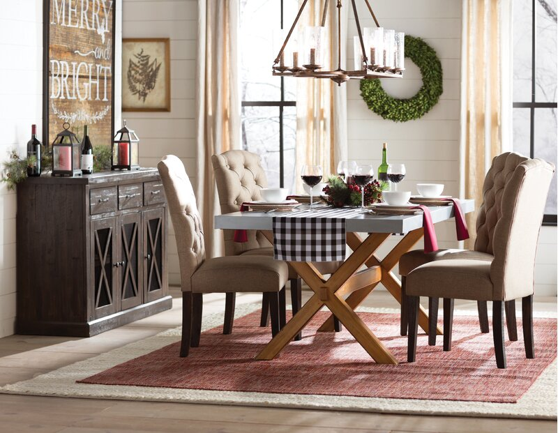 Gardner Dining Table Cottage Country Room Design