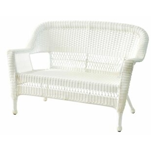 Awesome Karan Wicker Patio Loveseat Ocoug Best Dining Table And Chair Ideas Images Ocougorg