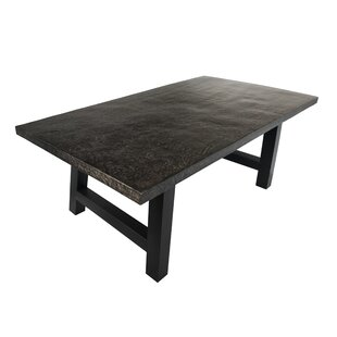 17 Stories Dorcia Outdoor Concrete Dining Table