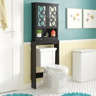 Affordable Price Fordingbridge 24 W x 67 H Over the Toilet Storage ByLatitude Run