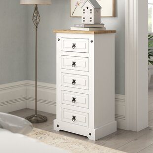 Abbie 5 Drawer Chest By August Grove
