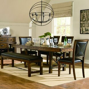 alegre extendable dining table - Long Wood Dining Table