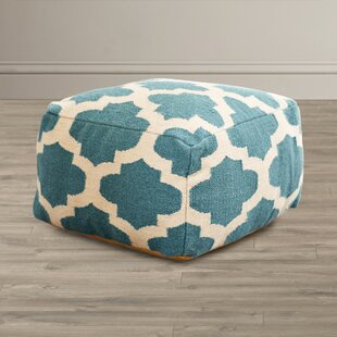 Zahara Lavish Lattice Pouf