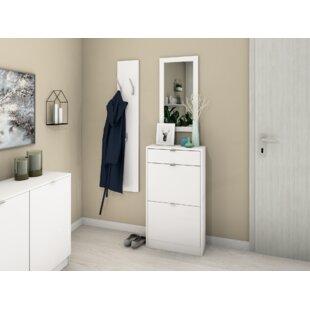 Review Decimus 8 Pair Shoe Storage Cabinet
