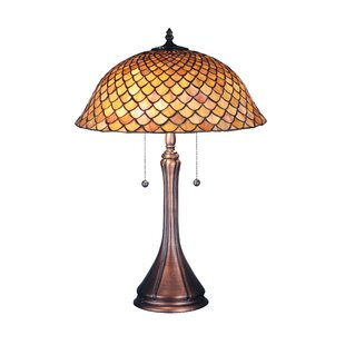 Victorian Fishscale 23 Table Lamp