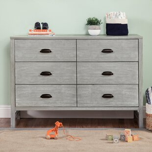 Fairway 6 Drawer Double Dresser