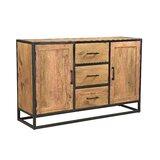 Heskett 59'' Wide 3 Drawer Sheesham Wood Sideboard by Millwood Pines