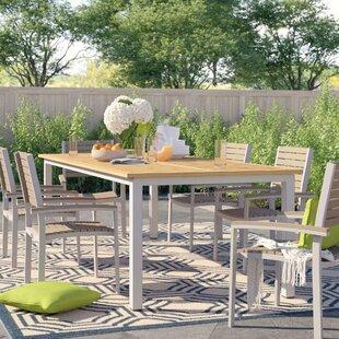 Hillard Aluminum Dining Table