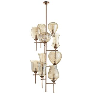 Cyan Design Darcey 10-Light Shaded Chandelier