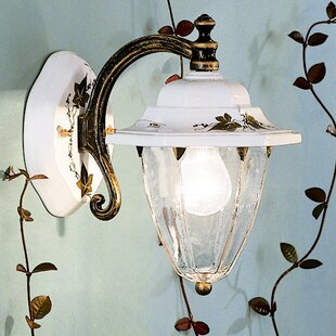 Nelle 1 Light Wall Lantern By August Grove