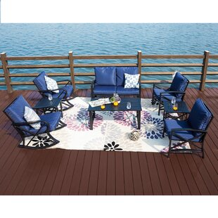 Shirey 8 Piece Sofa Seating Group With Cushions By Breakwater Bay