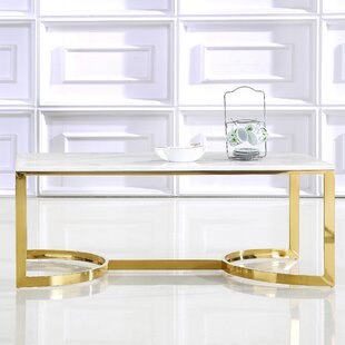 Brookside Coffee Table by Everly Quinn Purchase