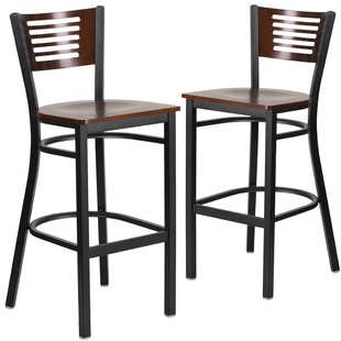 Price comparison Madelon 29.75 Bar Stool (Set of 2) by Red Barrel Studio Reviews (2019) & Buyer's Guide