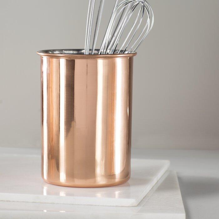 Copper Utensil Caddy