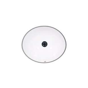 St Thomas Creations by Icera Vanity Vitreous China Oval Undermount Bathroo..