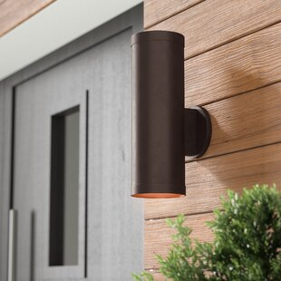 Braxton 2-Light Outdoor Metal Sconce
