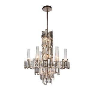 Rosdorf Park Colby 12-Light Crystal Chandelier
