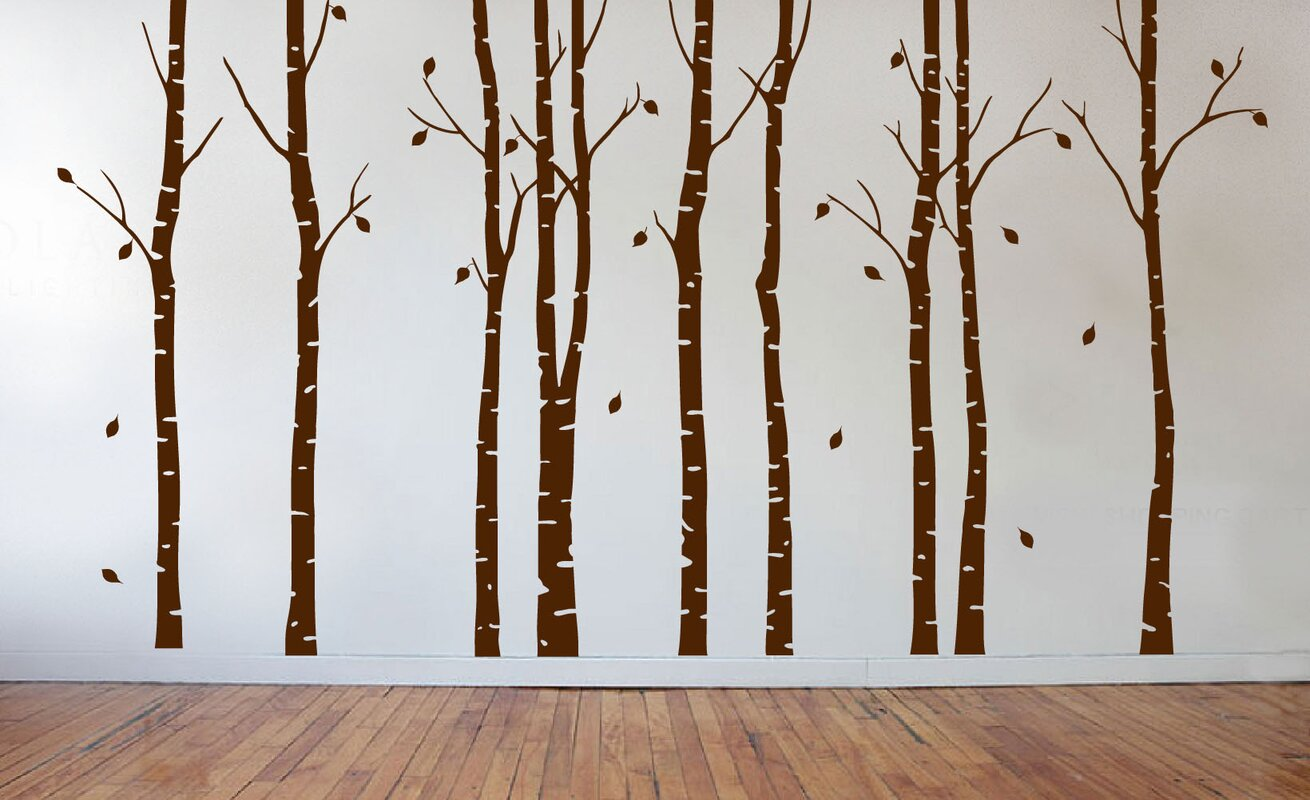 Innovative stencils birch tree forest branches wall decal birch tree forest branches wall decal amipublicfo Choice Image