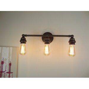 Tamworth Traditional 3-Light Metal Vanity Light