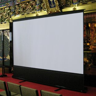 ezCinema White Portable Projection Screen by Elite Screens