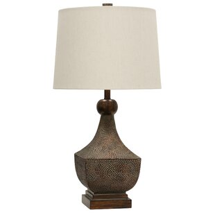 Online Reviews Shawn Transitional Resin Base 31.5 Table Lamp By World Menagerie