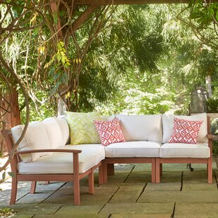 Rossi Patio Sectional with Cushions by Birch Lane? Heritage