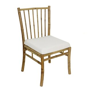 Platani Bamboo Patio Dining Chair