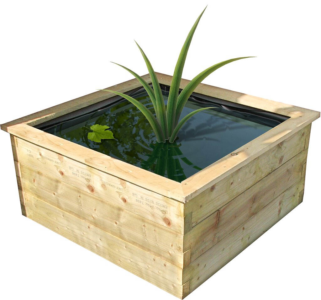 Philip Wooden Planter Box