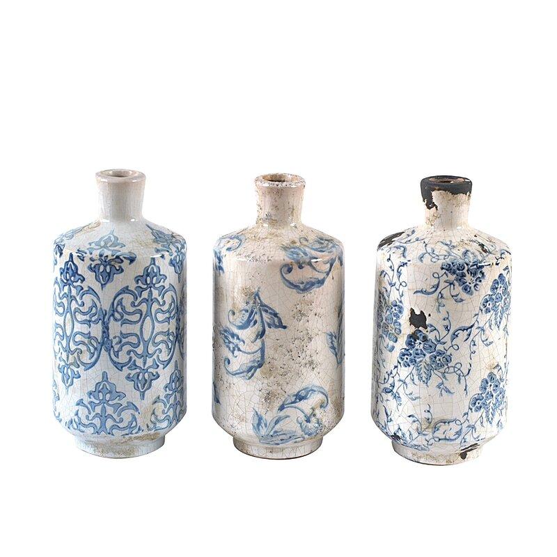 Bluestone Terracotta Vases