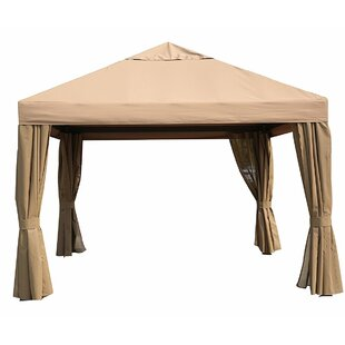 SoraraOutdoorLiving 11.5 Ft. W x 11.5 Ft. D Metal Patio Gazebo