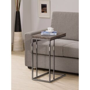 Decastro End Table by Wrought Studio